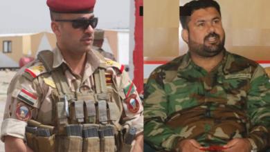"""صورة نص تهديد سرسري الحشد """"أبو زيد"""" للواء الغنام بقطع يده..والسبب صورة طائفية!"""