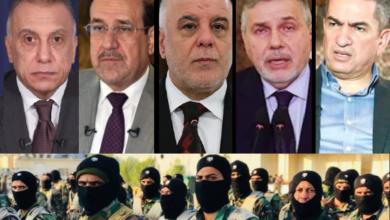 """صورة انقلاب """"النار تحت الرماد"""" لتنصيب رئيس وزراء غير الكاظمي!!"""