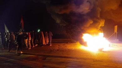 صورة الناصرية و4 محافظات تجدّد رفضها لجُبن الحكومة وإجرامية مقتدى!!