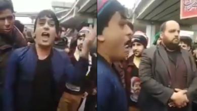"""صورة قصيدة تتوعّد مقتدى بقصاص""""التعليگ"""".. وتسخر من عمالته لإيران!!!"""